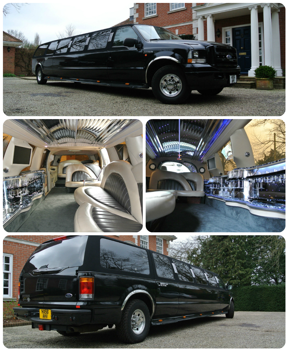 black excursion limousine