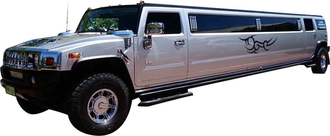 Silver Hummer H2 Limousine